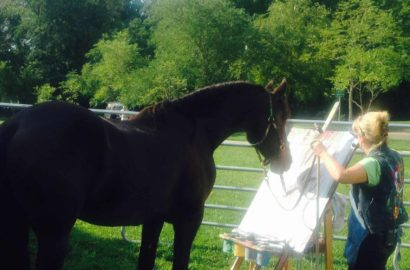 See Justin The Artistic Horse at Hope Heritage Days