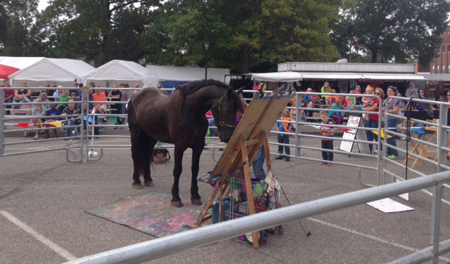 Justin Made New Fans at Hope Heritage Days