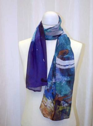 Waterfillies Art Scarf