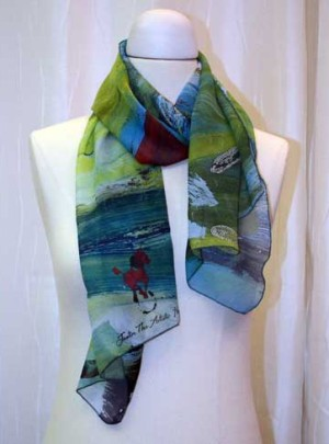 Equus Run Art Scarf