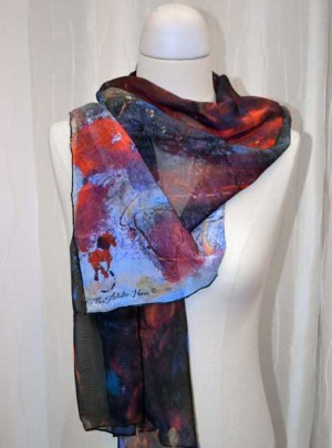 Stampeed Art Scarf